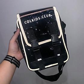 Túi Đeo Chéo Phản Quang Mini Bag Colkids Club Unisex SS3 - Đen