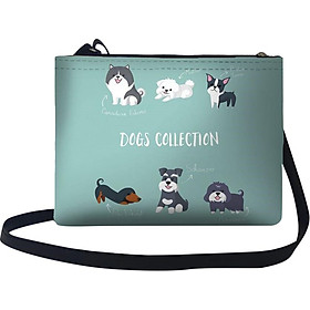 Túi Đeo Chéo Nữ In Hình Dogs Collection - TUCT267