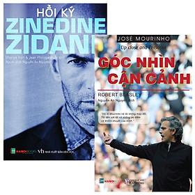 [Download sách] Combo Hồi kí Zinedine Zidane + Jose Mourinho - Góc nhìn cận cảnh (Bộ 2 Cuốn)