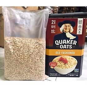 Hộp 4,52Kg Yến Mạch Quaker Oats Nhập Khẩu Từ Mỹ Nguyên Kiện(( Loại cán mỏng ))