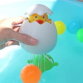 Đồ chơi quả trứng thả bồn tắm