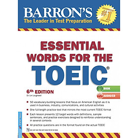 Barron's Essential Words For The Toeic (Tái Bản)