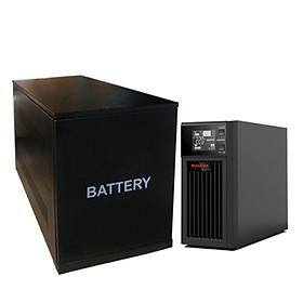 Bộ lưu điện Santak True Online 1KVA - Model C1KS-LCD - Hàng nhập khẩu