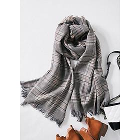 Khăn choàng khăn len quàng cổ cho nữ L18-02