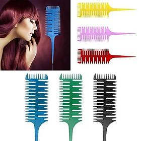 Lược móc light nghệ thuật chuyên nghiệp cho Salon Highllight Comb-1
