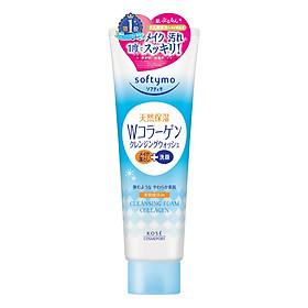 Bọt Rửa Mặt & Tẩy Trang Dạng Kem 2 Trong 1 Kosé Cosmeport Softymo Cleansing Foam Collagen (190g)