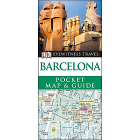 Barcelona Pocket Map and Guide