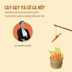 Cây gậy và củ cà rốt - Phương pháp khoa học độc quyền thuần phục hành vi bướng bỉnh của trẻ