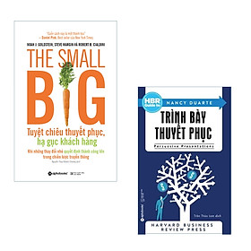 Combo Hạ Gục Khách Hàng: The Small Big + HBR GUIDE - Trình Bày Thuyết Phục