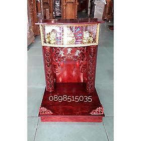 Bàn thờ thần tài ông địa có hộp đèn BTOD40