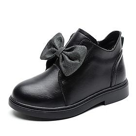 Giày boot cho bé gái cổ thấp mang phong cách công chúa thời thượng và tinh tế