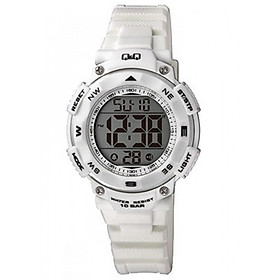 Đồng hồ nữ điện tử Q&Q Citizen M149J005Y dây nhựa thương hiệu Nhật Bản
