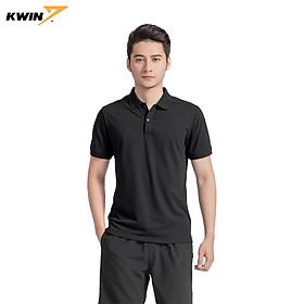 Áo phông trơn có cổ KWIN chính hãng màu đỏ tây lịch sự, dáng suông dễ mặc, thấm hút mồ hôi - Mã KPS022S9