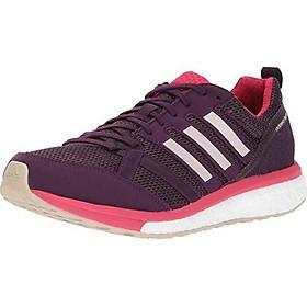 adidas Women's Adizero Tempo 9 Running Shoe, RED Night/ICE Pink/Energy Pink, 5.5 Medium US