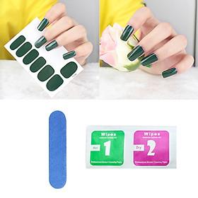 Sticker dán móng tay siêu dễ thương (Kèm dũa và khăn)