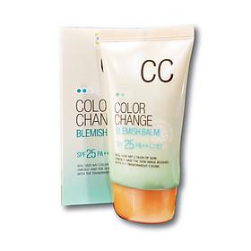 Kem nền hiệu chỉnh màu da và chống tia UV SPF 25/PA+ + Hàn Quốc welcos color change blemish balm (welcos)
