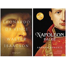 Combo Danh Nhân Thế Giới : Leonardo Da Vinci (Bìa Cứng Tái Bản 2020) + Napoleon Đại Đế (Tái bản 2020)