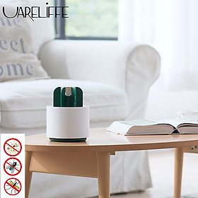 Uareliffe Portable Mosquito Repellent Killer Movable USB Cable Mute Smokeless Odorless Blue Purple light Mosquito Killer Lamp Silent Mosquito Storage Box 360° Open Air Duct Design Anti-mosquito Artifact For Pregnant Infant