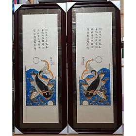 Tranh dân gian Đông Hồ-Lý Ngư Vọng Nguyệt