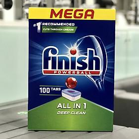 Viên rửa bát Finish All in one 100 viên