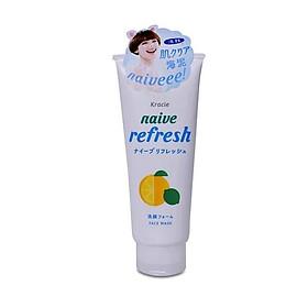 Sữa Rửa Mặt Naive Hương Chanh (130g)