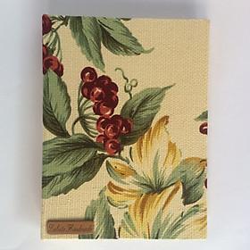 Sổ tay Handmade Labata Hoa Nền Vàng 209