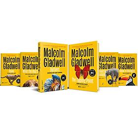 Combo 6 Cuốn Sách Của Tác Giả Malcolm Gladwell: Chú Chó Nhìn Thấy Gì + David & Goliath + Điểm Bùng Phát + Đọc Vị Người Lạ +  Những Kẻ Xuất Chúng +  Trong Chớp Mắt