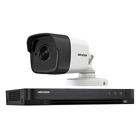 Trọn bộ 1 Camera giám sát HIKVISION TVI 5 Megapixel DS-2CE56H1T-ITM FULL 4K - Hàng chính hãng