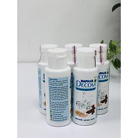 [COMBO 5 CHAI] Gel rửa tay khô kháng khuẩn Nano Bạc Naphar DECOVI 45ml