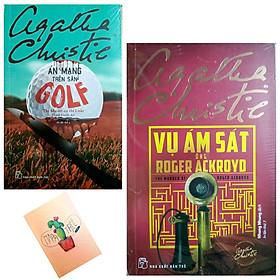 Combo Agatha Christie : Án Mạng Trên Sân Golf và Vụ Ám Sát Ông Roger Ackroyd ( Tặng Kèm Sổ Tay Xương Rồng)