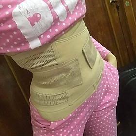 Đai lỗ bản to hỗ trợ giảm mỡ bụng sau sinh lấy lại vóc dáng thọn gọn