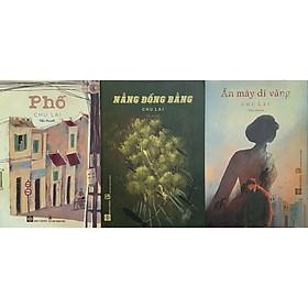 Combo 3 cuốn của Tác giả Chu Lai: Phố - Ăn mày dĩ vãng - Nắng đồng bằng