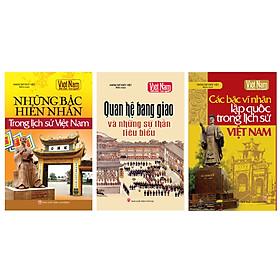 Combo Tủ sách lịch sử - Danh nhân Việt Nam (Bộ 3 cuốn)