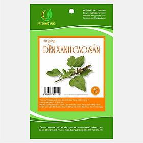 Hình đại diện sản phẩm Combo 3 gói Hạt giống rau dền xanh Golden Seeds 40Gr