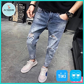 Quần Jean, Quần Bò Nam kiểu phong cách hàn quốc hot trend 2021 T&L store msa30