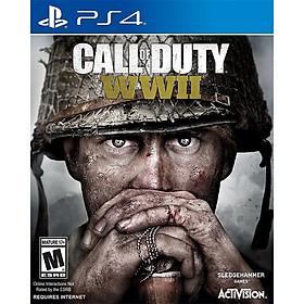 Đĩa game PS4 Call Of Duty WWII - Hàng Nhập Khẩu