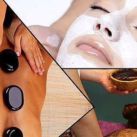 Combo 2: Xông Hơi, Ngâm Chân + Chăm Sóc Da Mặt + Massage Body Đá Nóng + Dưỡng Sáng Mịn Da 150 Phút Tại Paradise Beauty & Spa