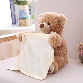 Gấu bông chơi trốn tìm cùng bé siêu dễ thương