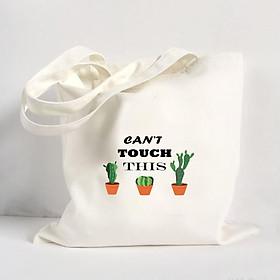 Túi Vải Đeo Vai Tote Bag In Hình Can't Touch This - Hàng Chính Hãng