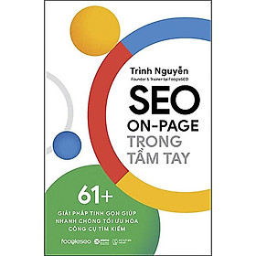 Sách - Seo on - page trong tầm tay