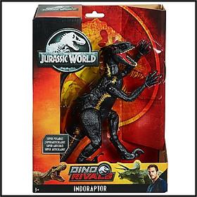 Mô Hình Khủng Long Indoraptor Dino Rivals (Hiếm) JURASSIC WORLD MỸ Dài 35cm Cao 21cm - Dinosaur Figure