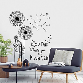 Decal dán tường Bloom Planted JM8390