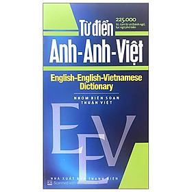Từ Điển Anh – Anh – Việt