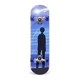 Ván trượt Skateboard Bensai 6 dành cho trẻ em và người lớn trên 6 tuổi có thể chịu được trọng lượng lên đến 75kg