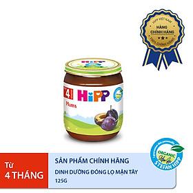 Dinh dưỡng đóng lọ ăn dặm Mận tây HiPP Organic 125g