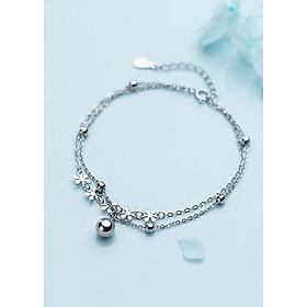 Lắc Tay Nữ | Lắc Tay Nữ Bạc S925 Hoa Mặt Trời 6 Cánh L2523 - Bảo Ngọc Jewelry