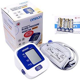 Máy đo huyết áp Omron Hem 8712+ Tặng máy đo đường huyết Safe-Accu