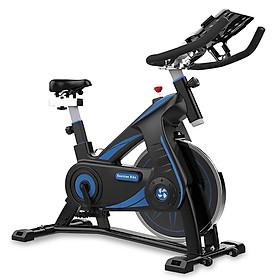 BG Xe đạp thể thao đa năng có giá đỡ ipad trong nhà mới SPINING BIKE S301 BLACK (hàng nhập khẩu)