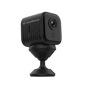 Camera mini WIFI IP intellhawk AI1 fullHD 1080P siêu nét tích hợp cảm biến ngày đêm để bật đèn hồng ngoại tự động - Camera an ninh A11-Chính hãng