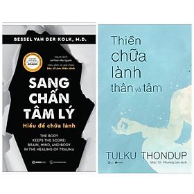 Combo sách tâm lý: Sang Chấn Tâm Lý - Hiểu Để Chữa Lành + Thiền Chữa Lành Thân Và Tâm